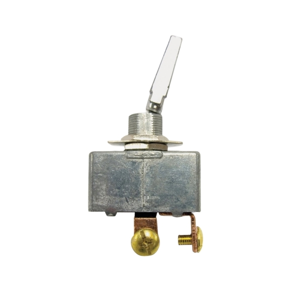 Picture of CALTERM 41770 Toggle Switch, 35 A, 12 VDC, Screw Terminal, Chrome Housing Material