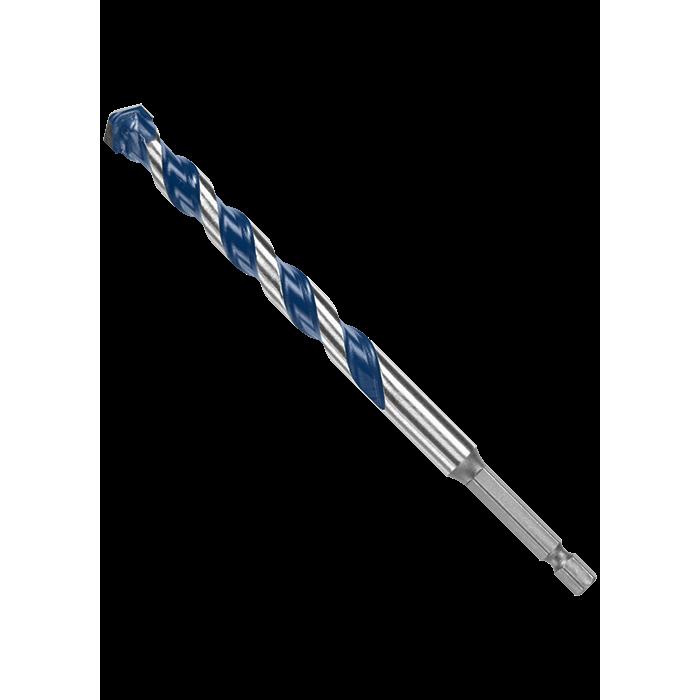 Picture of Bosch BlueGranite Turbo HCBG15T Drill Bit, 7/16 in Dia, 6 in OAL, Hammer Bit, Milled Flute, 2 -Flute, Hex Shank