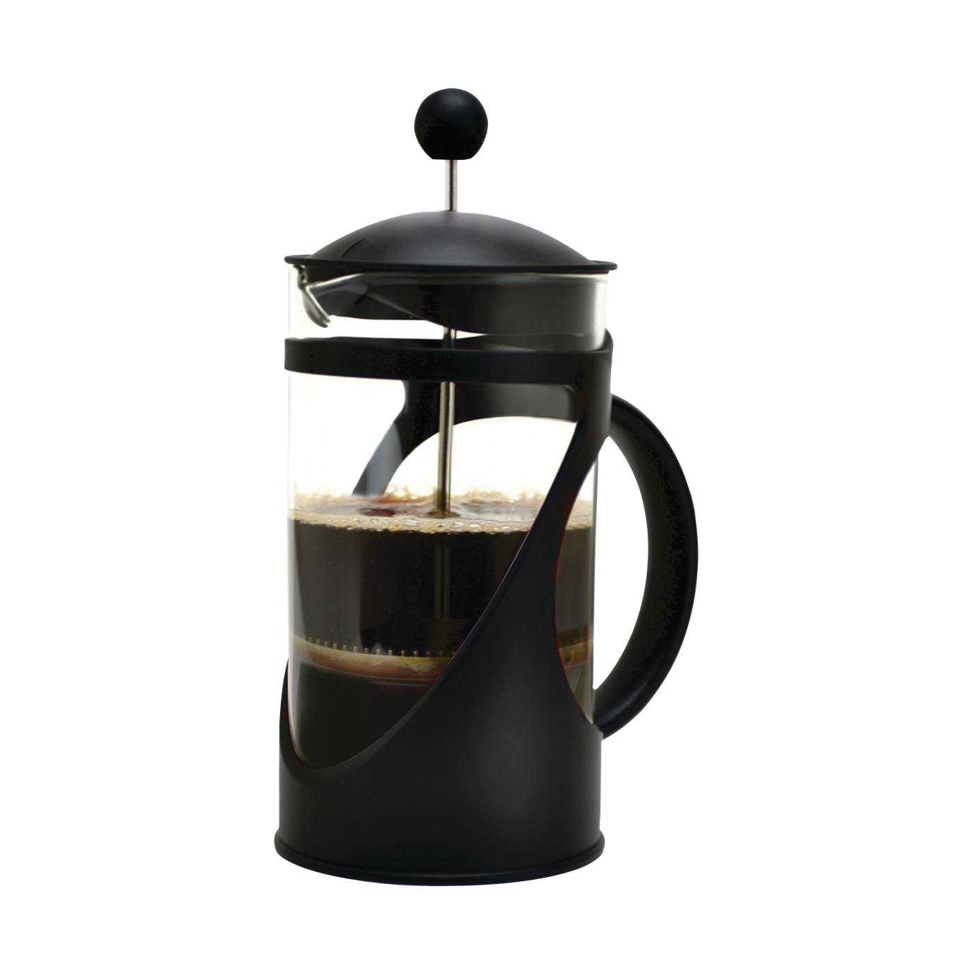 Picture of Primula TCP-2908 Coffee Press, 8 Cups Capacity, Borosilicate Glass/Plastic/Stainless Steel, Black
