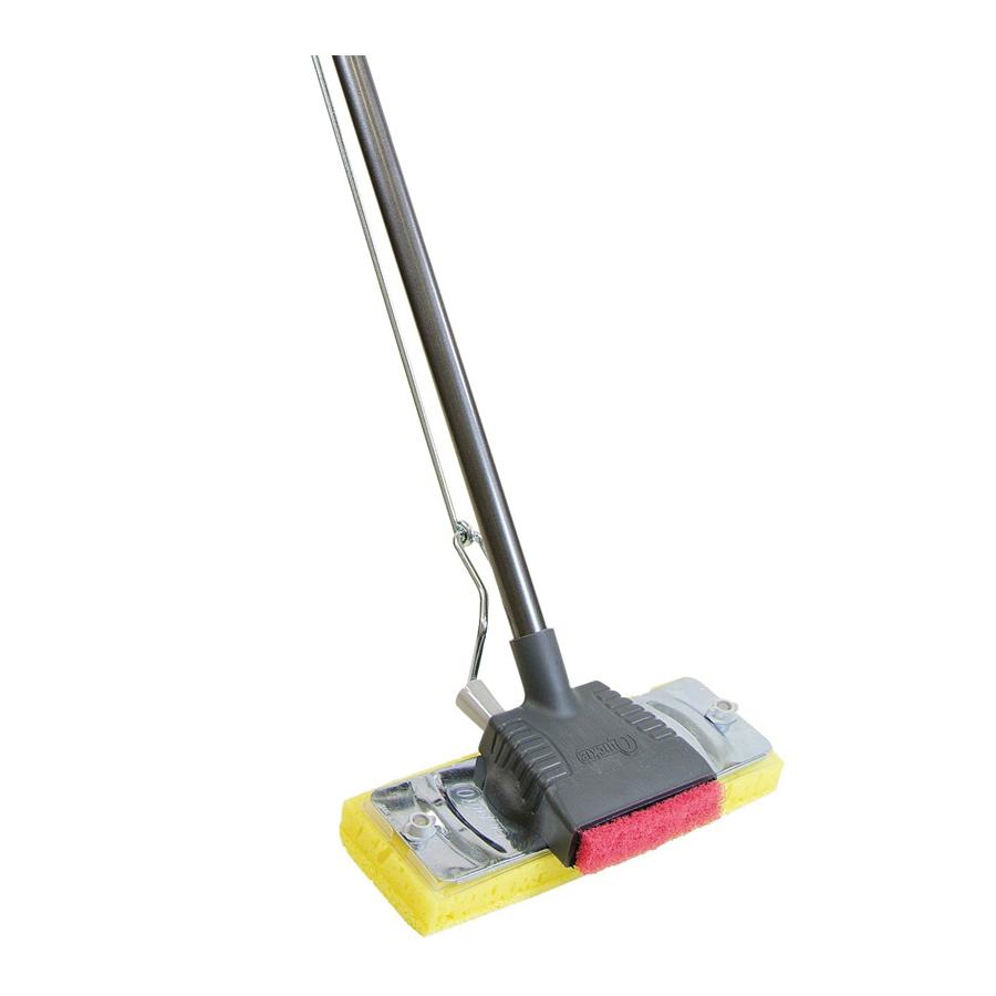Picture of Quickie 027-4 Sponge Mop, Cellulose Sponge Mop Head, Steel Handle
