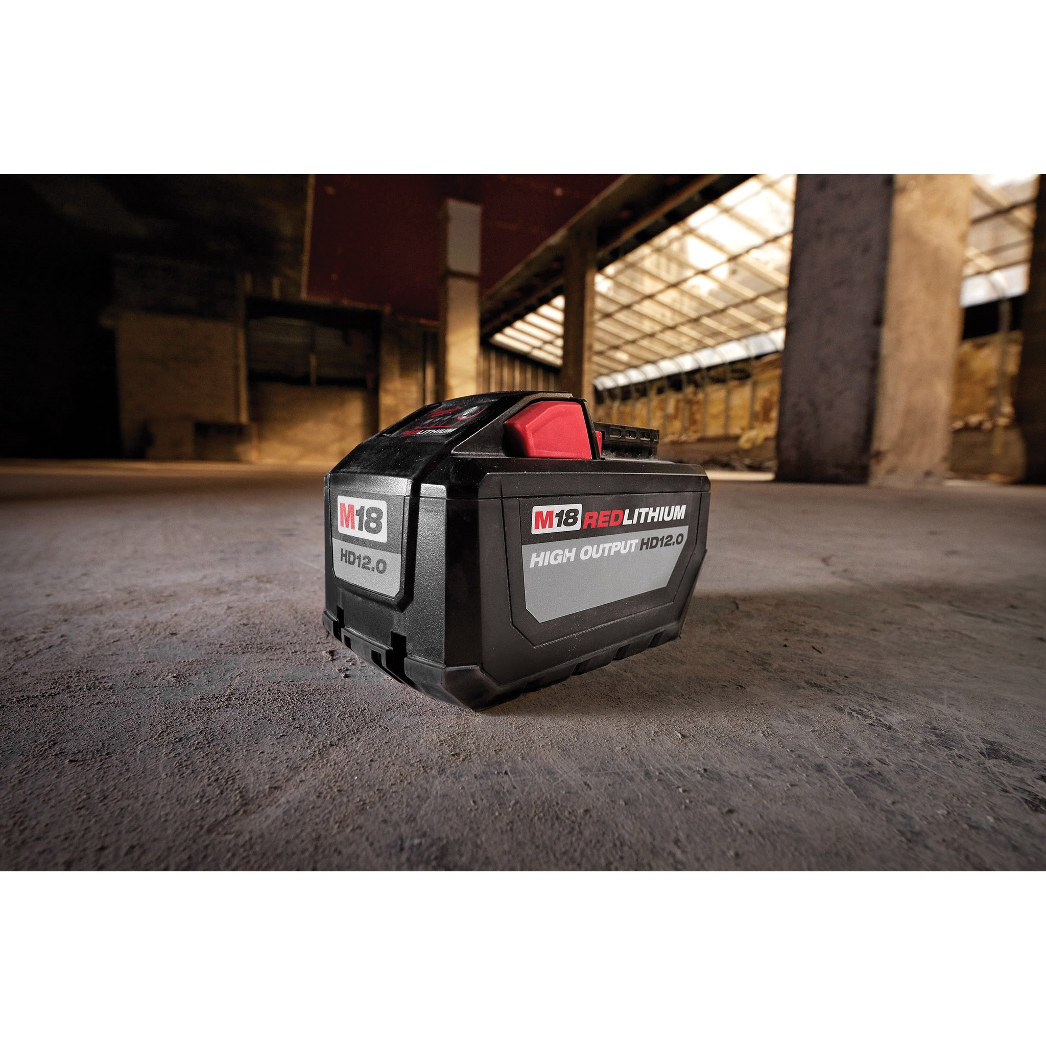 Picture of Milwaukee M18 REDLITHIUM 48-11-1812 Battery Pack, 18 V Battery, 12 Ah