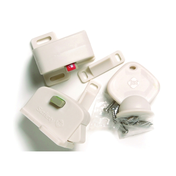 Picture of Safety 1st HS130 Locking System Set, 11-1/4 in L, 4.1 in W