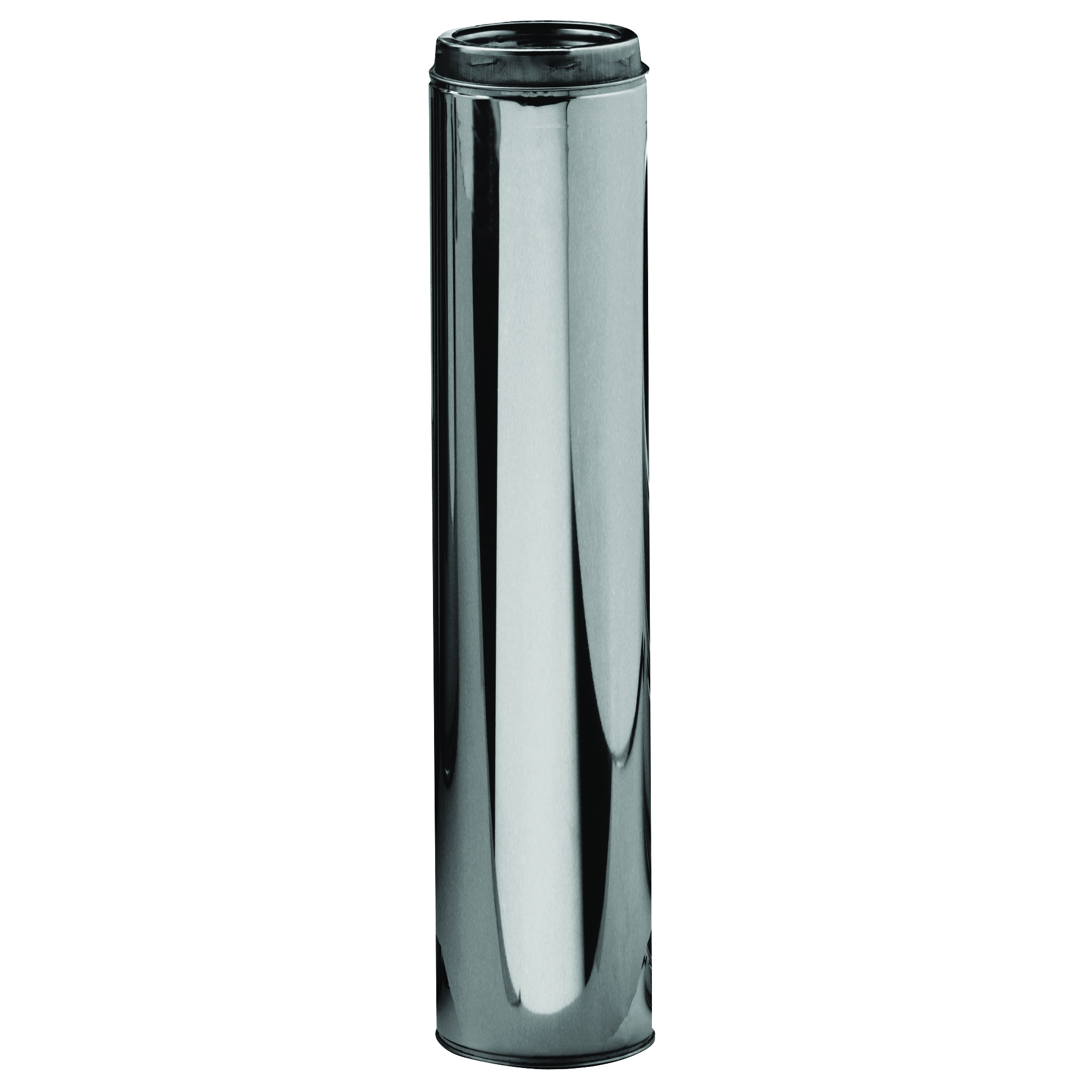 Picture of SELKIRK 206036 Chimney Pipe, 8 in OD, 36 in L, Stainless Steel