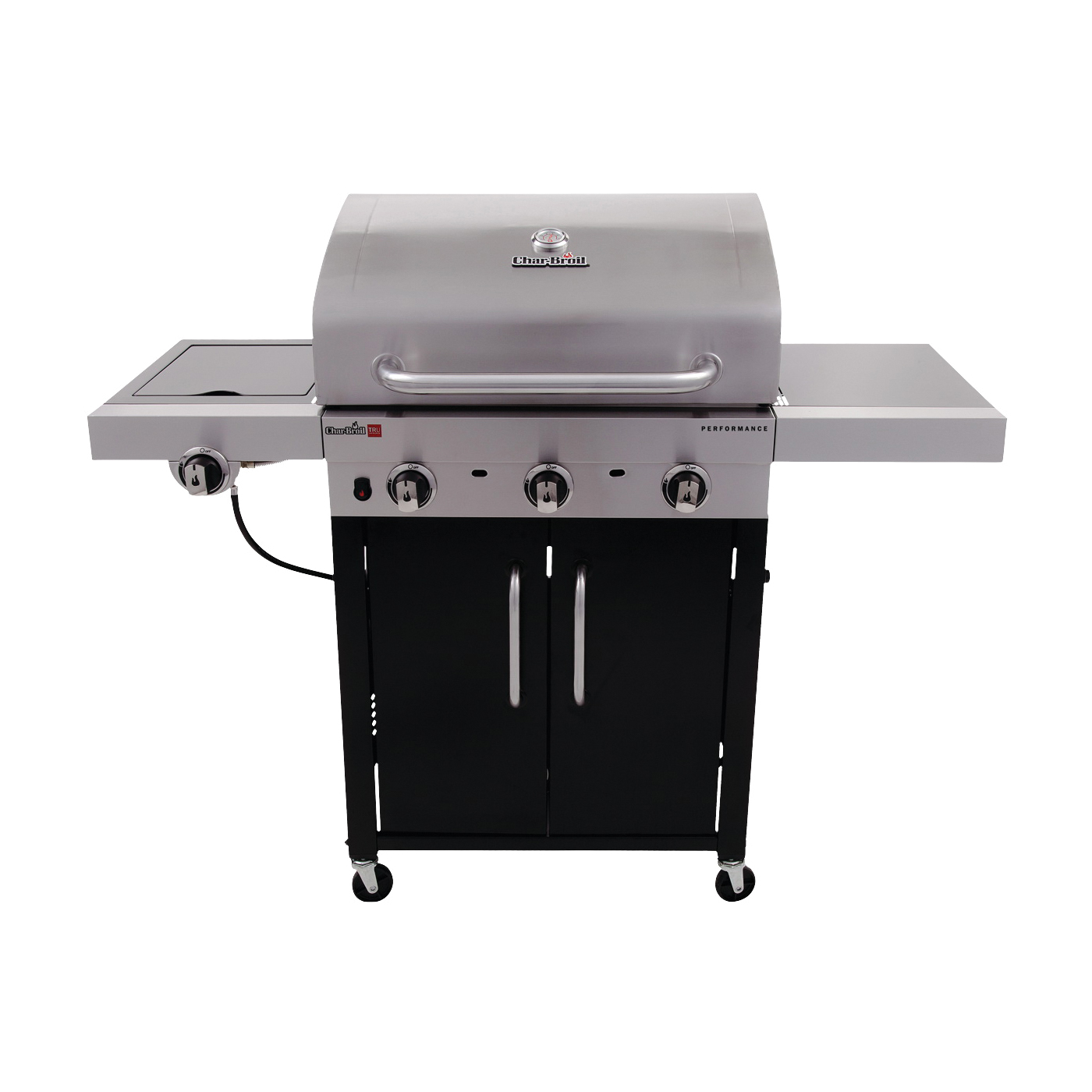 Picture of Char-Broil Performance Series 463371316 Gas Grill, 10000 Btu BTU, 3 -Burner, 450 sq-in Primary Cooking Surface