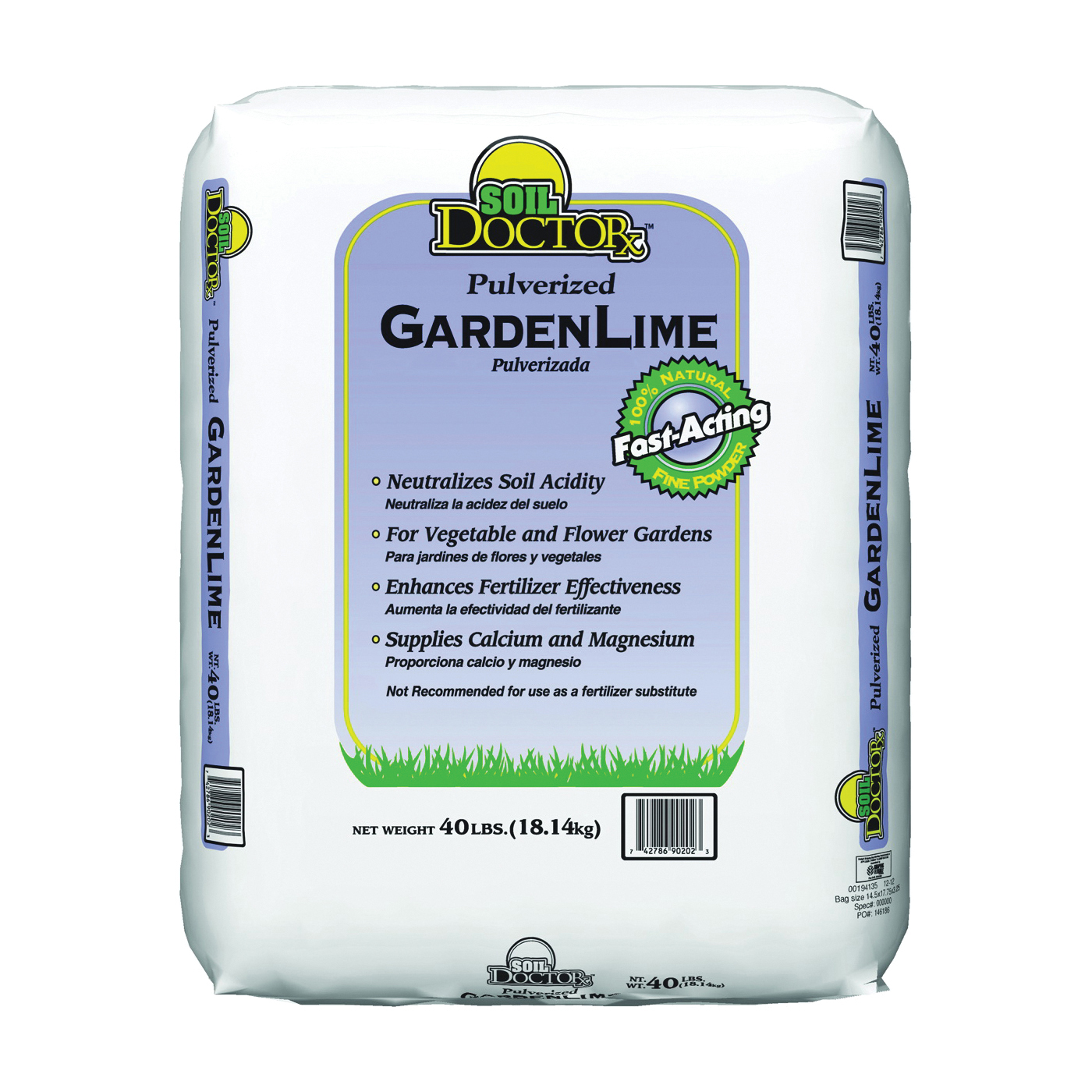 Picture of Oldcastle 50051550 Garden Lime, 40 lb Package, Bag
