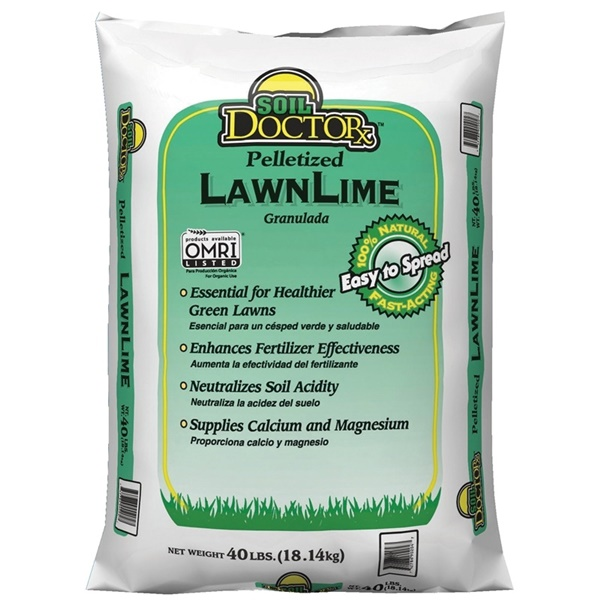Picture of Oldcastle 54050860 Pelletized Lawn Lime, 40 lb Package, Bag