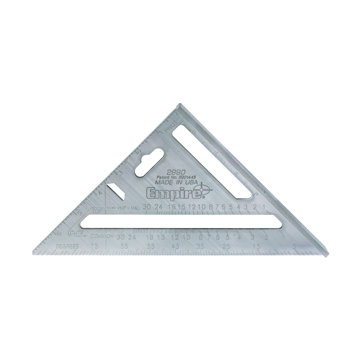 Picture of Empire 2990 Rafter Square, Aluminum, 7 in L