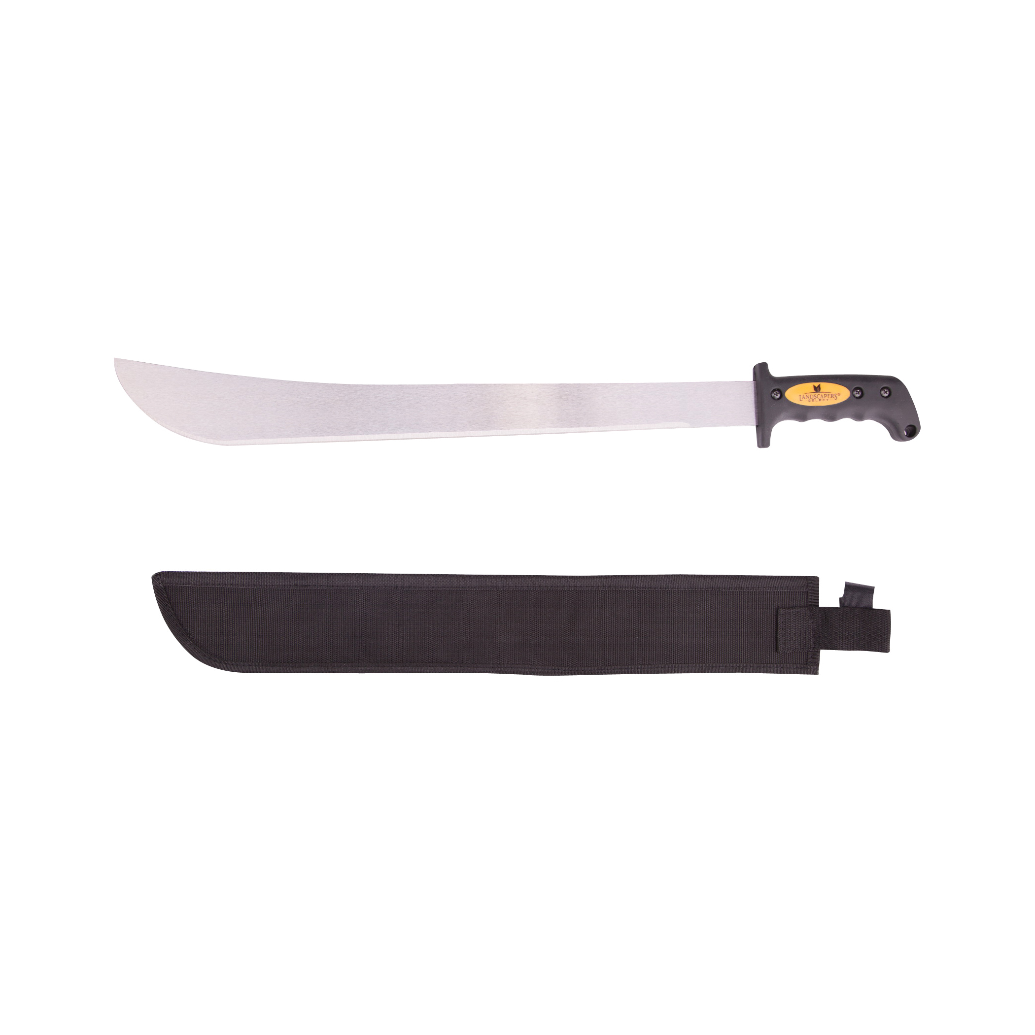Picture of Landscapers Select JLO-003-N3L 22 in Blade, 27-1/2 in OAL, 22 in Blade, High Carbon Steel Blade, Rubber Handle