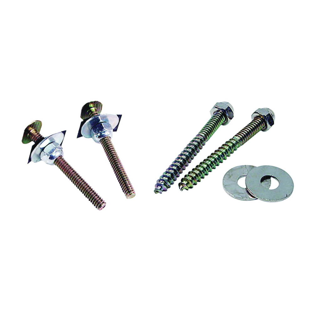 Picture of Danco 88986 Closet Bolt and Screw Set, Steel, Brass