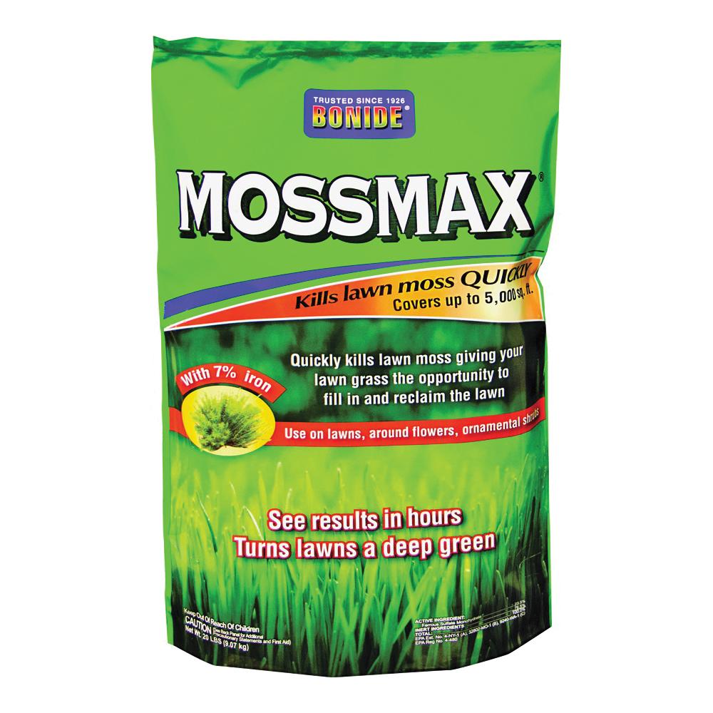 Picture of Bonide 60730 Lawn Moss Killer, Granular, 20 lb Package, Bag
