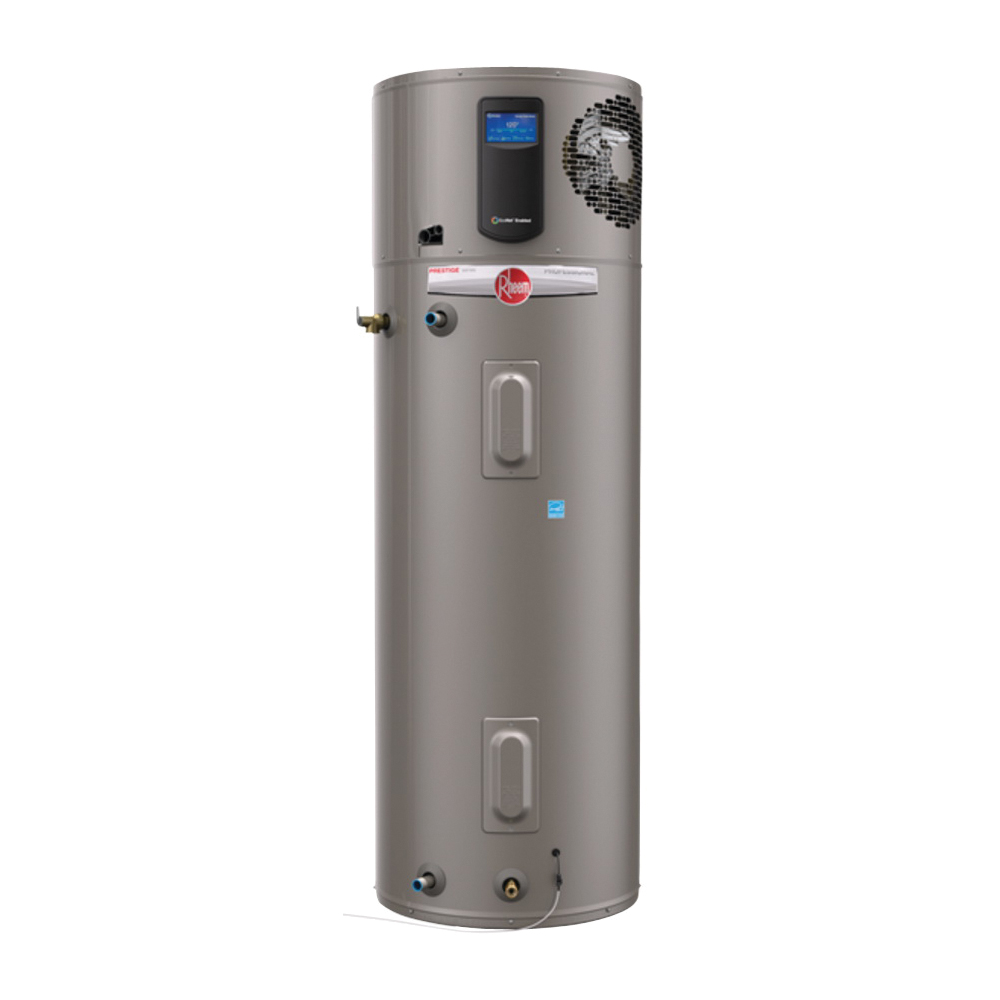 Picture of Richmond 12E80-HP Electric Water Heater, 24 A, 208/240 V, 80 gal Tank, 8700 Btu, 24.5 % Energy Efficiency