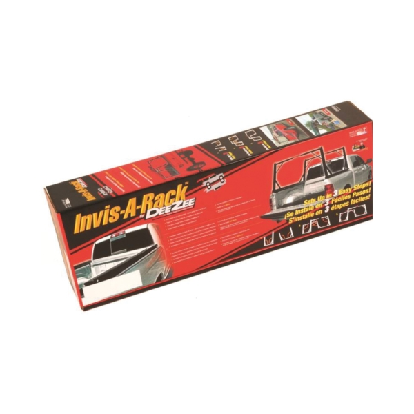 Picture of DEE ZEE DZ951550 Ladder Rack, Heavy-Duty, Aluminum, Black, Powder-Coated, For: Full-Size Pickup Trucks