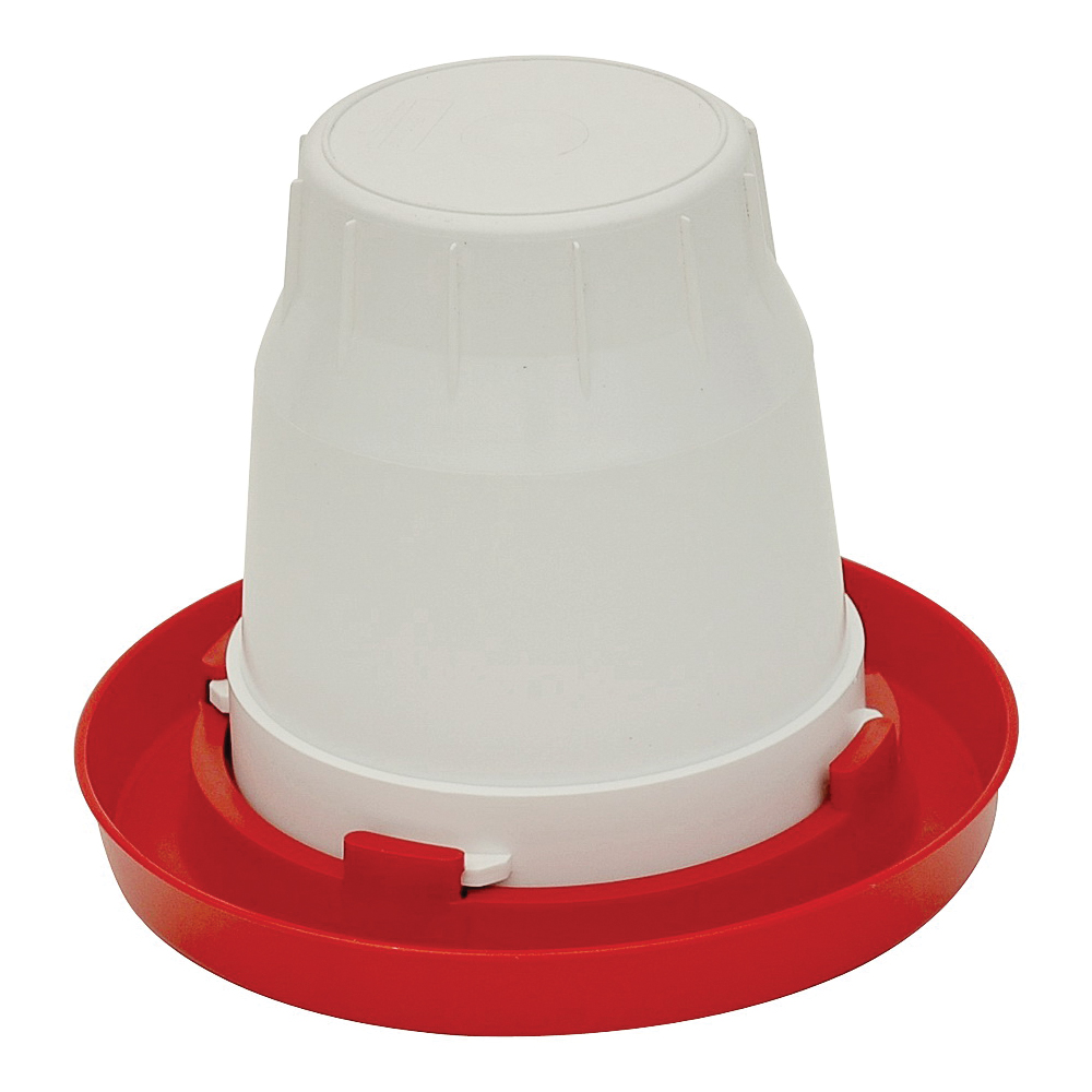 Picture of FORTEX-FORTIFLEX 1GFB Chick Waterer Base, 11 in Dia, 1-3/8 in H