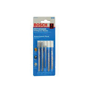 Picture of Bosch T500 Jig Saw Blade Kit, 5 -Piece, Bi-Metal