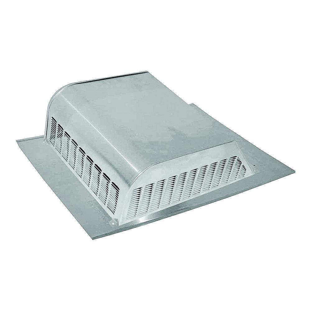 Picture of LOMANCO LomanCool 750 Static Vent, 16 in OAW, 50 sq-in Net Free Ventilating Area, Aluminum, Mill