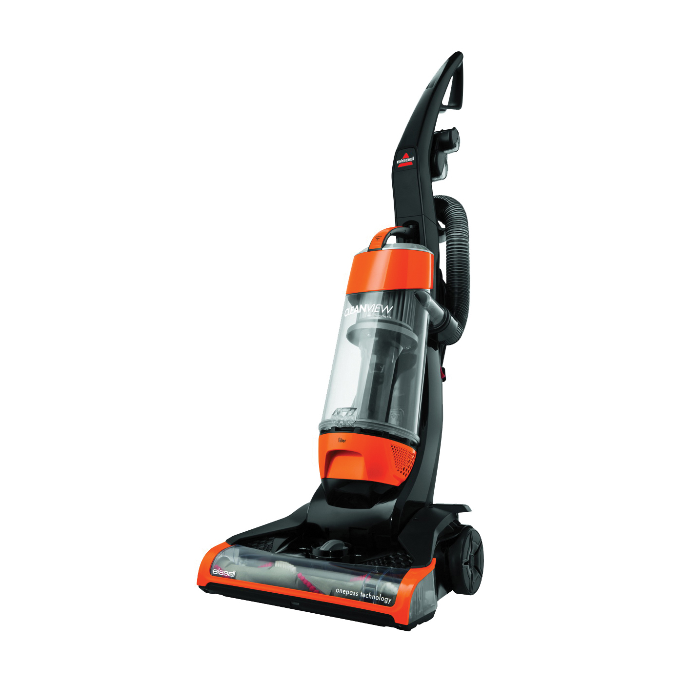 Picture of BISSELL CleanView 1831 Vacuum Cleaner, Multi-Level Filter, 25 ft L Cord, Samba Orange Housing