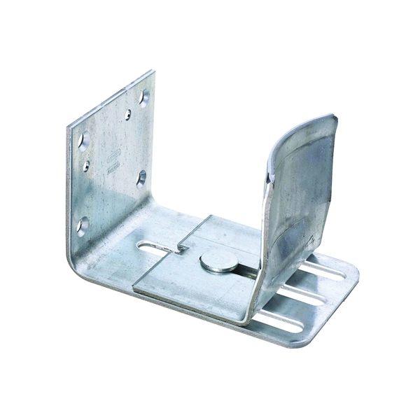 Picture of National Hardware DP325BC Series 131706 Door Guide, Galvanized Steel, Sideway Mounting