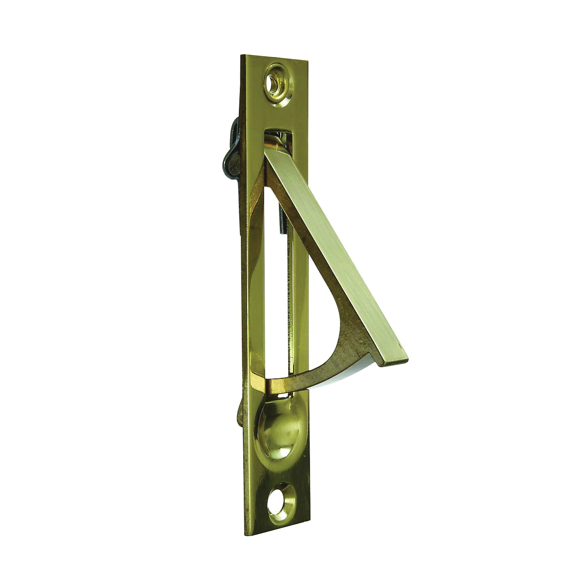 Picture of National Hardware N216-051 Door Edge Pull, 3/4 in W, Brass, Solid Brass
