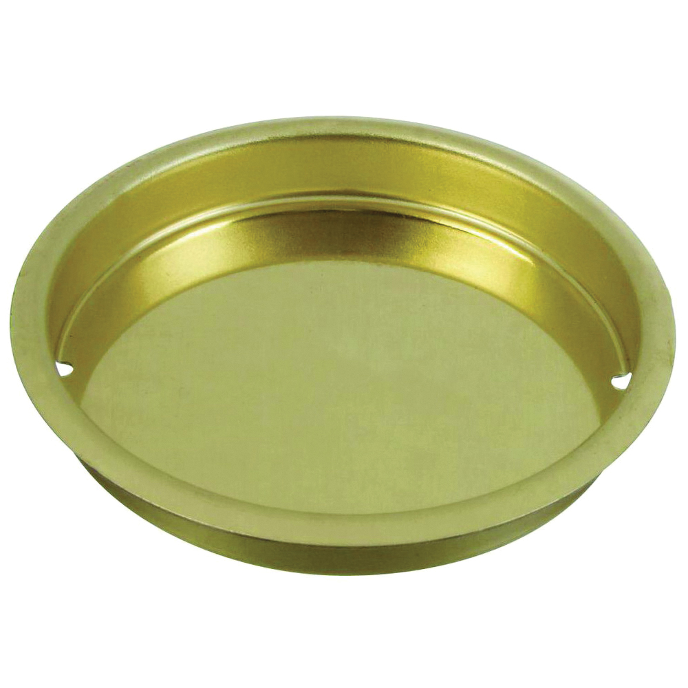 Picture of National Hardware N196-477 Door Cup Pull, Steel, Brass