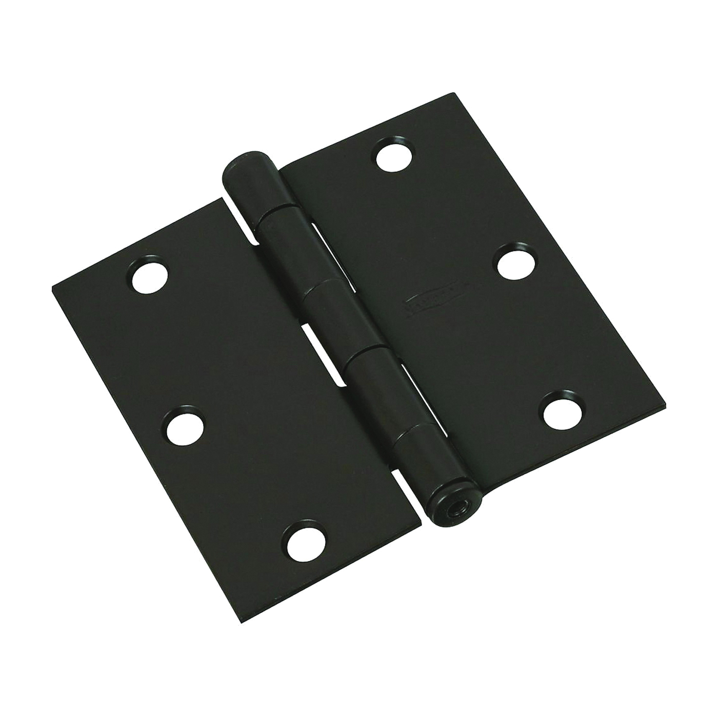 Picture of National Hardware N830-203 Door Hinge, Steel, Oil-Rubbed Bronze, Non-Rising, Removable Pin, Full-Mortise Mounting