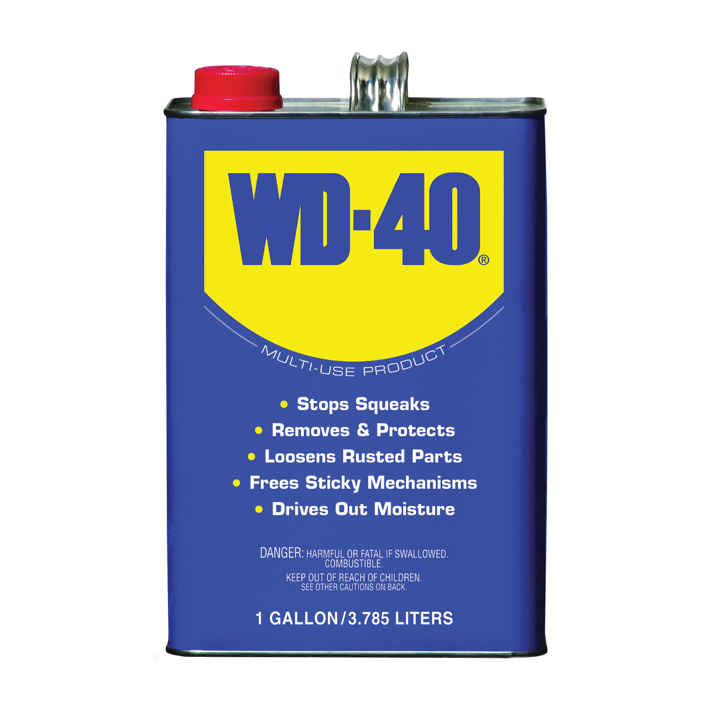 Picture of WD-40 490118 Lubricant, 1 gal Package, Can, Liquid, Mild Petroleum