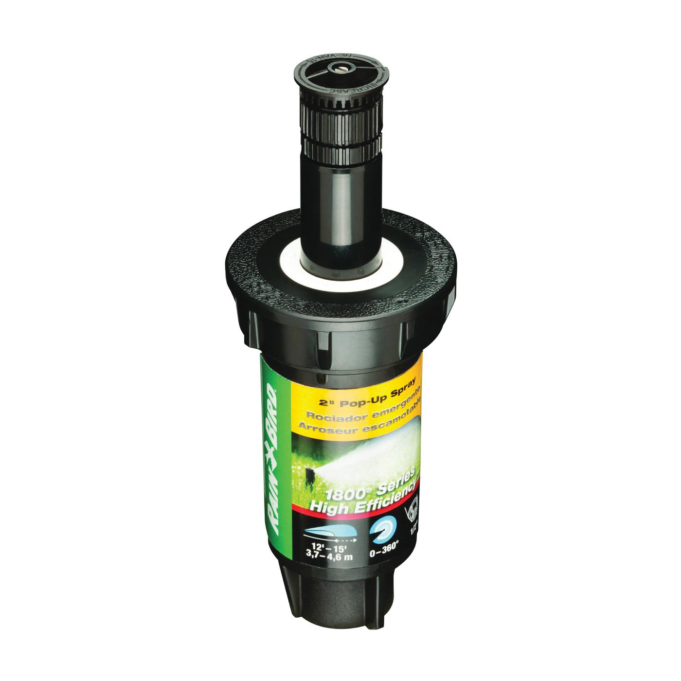 Picture of Rain Bird 1802HEVN15 Spray Head Sprinkler, 1/2 in Connection, FNPT, Plastic