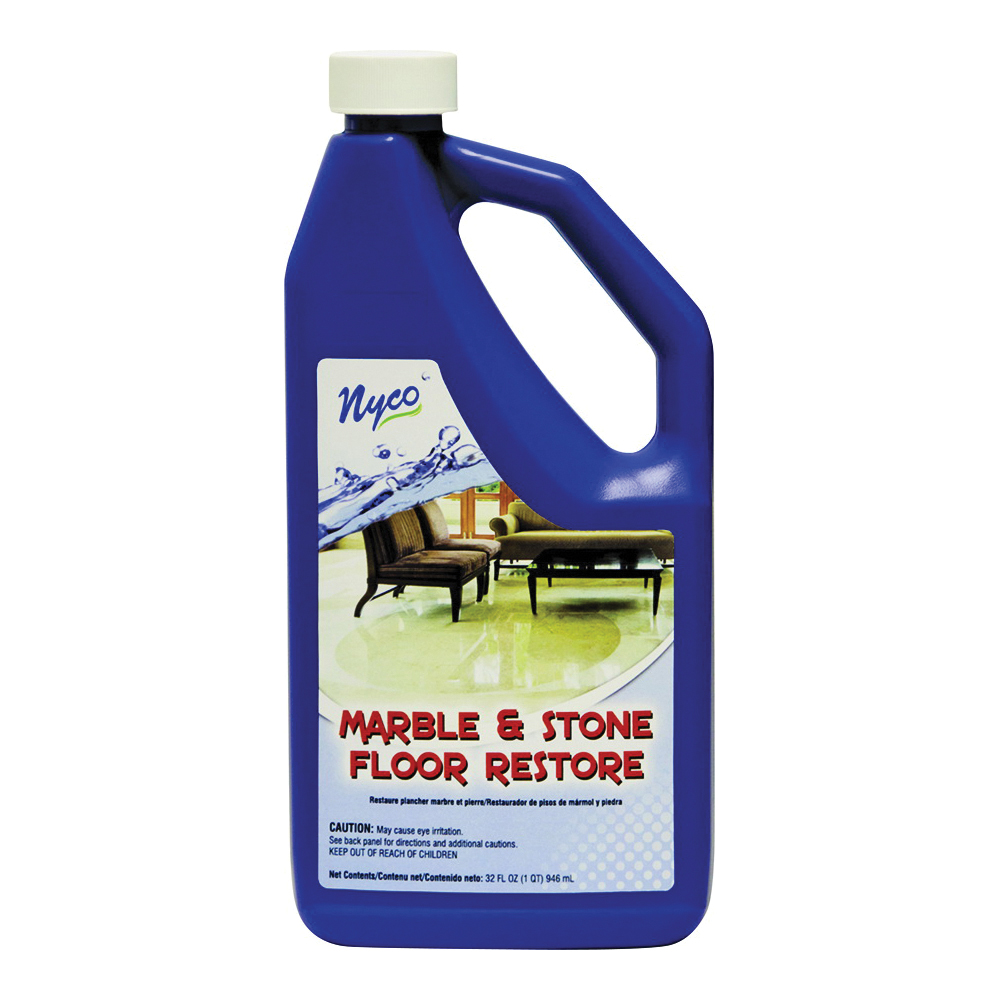 Picture of nyco NL90427-903206 Floor Restore, 32 oz Package, Liquid, Acrylic Polymer, White