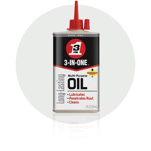 Picture of 3-IN-ONE 10035 Multi-Purpose Oil, 17, 3 oz Package, Bottle, Liquid, Faint Citronella