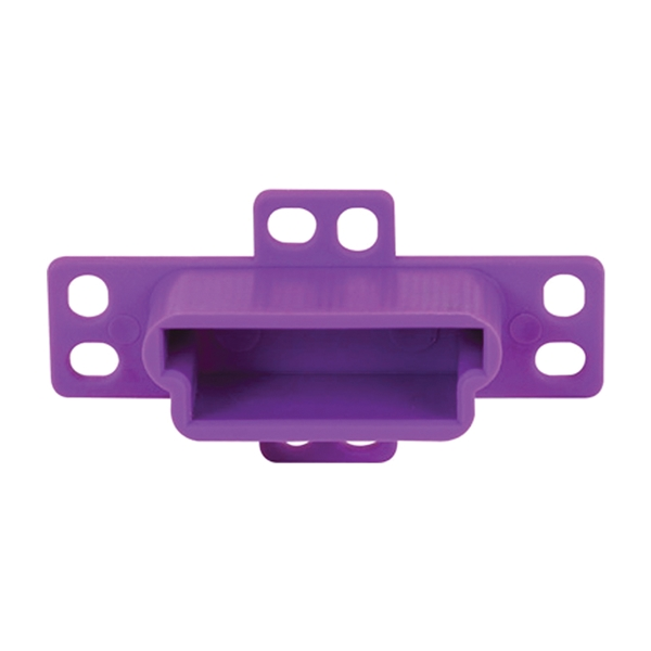 Picture of Prime-Line R 7133 Drawer Track Backplate, 3/4 in L, 2-3/4 in W, Nylon/Steel