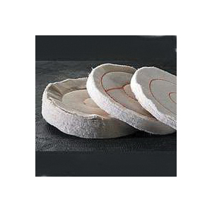 Picture of Dico 527-36-6 Buffing Wheel, 6 in Dia, 1/2 in Thick, Cotton