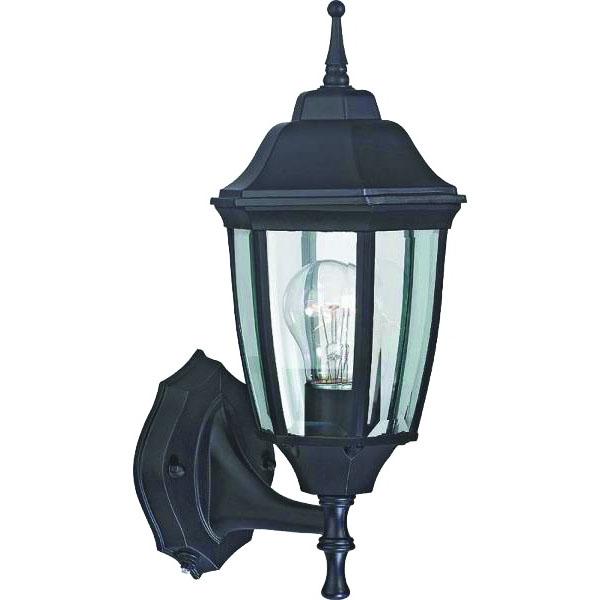 Picture of Boston Harbor DTDRB Dusk/Dawn Lantern, CFL Lamp, Aluminum Fixture, Rustic Brown Fixture