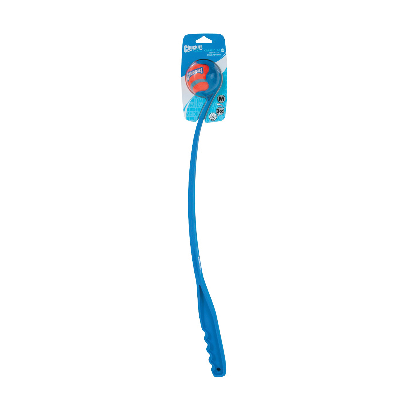 Picture of Chuckit! 06400 Dog Toy, Classic Launcher Toy, Plastic, Assorted