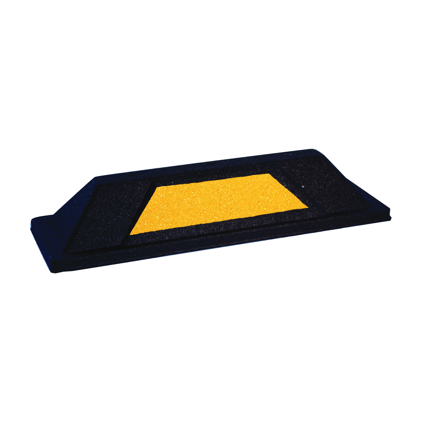 Picture of QRRI Secure Park TF375-6X20-SP Parking Stop, Rubber, Black/Yellow