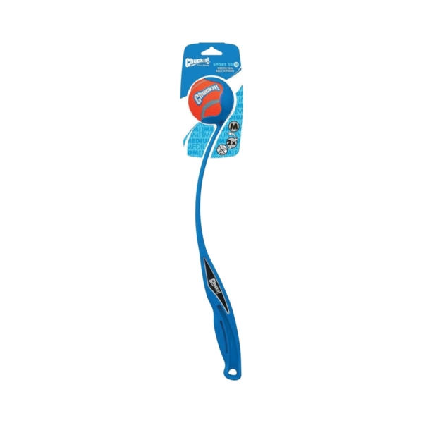 Picture of Chuckit! 06800 Sports Ball Launcher, M, Cushioned Grip Toy, Plastic, Assorted