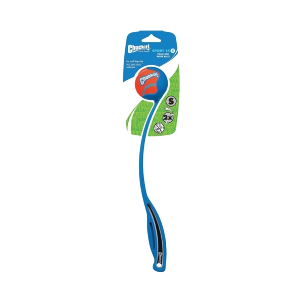 Picture of Chuckit! 06900 Sports Ball Launcher, S, Cushioned Grip Toy, Plastic, Assorted