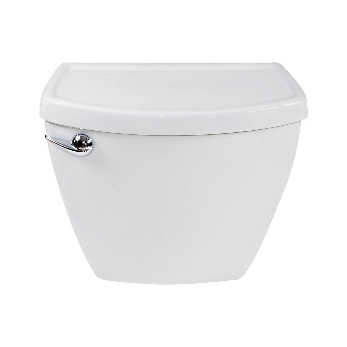 Picture of American Standard Cadet 3 Series 4021101N.020 Toilet Tank, 1.28 gpf Flush, 12 in Rough-In, Vitreous China, White
