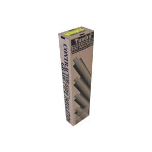 Picture of Tundra PC12238TW Pipe Insulation, 6 ft L, Steel, Charcoal
