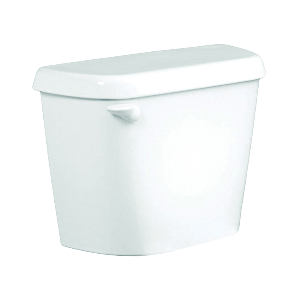 Picture of American Standard Colony 4192A004.020 Toilet Tank, 1.6 gpf Flush, 12 in Rough-In, Vitreous China, White