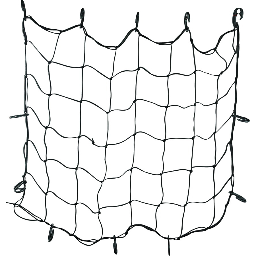 Picture of ProSource FH92103 Cargo Net, 48 in L, 36 in W, Rubber, Black