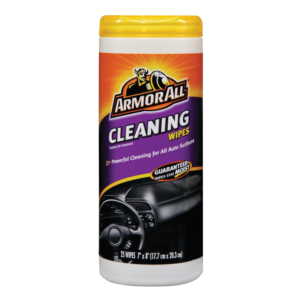 Picture of ARMOR ALL 10863-0 Cleaning Wipes, 25