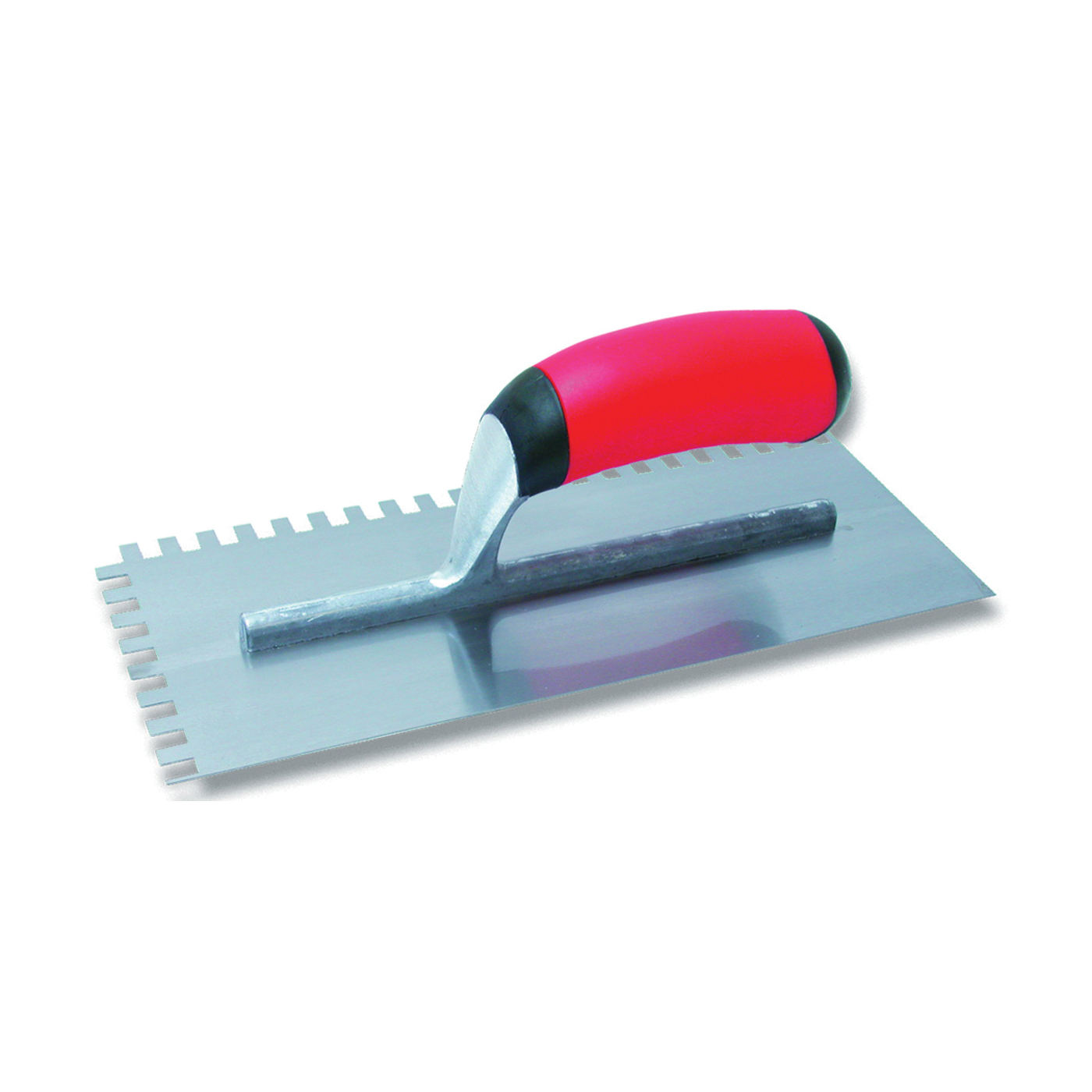 Picture of Marshalltown QLT Series 15672 Trowel, 11 in L, 4-1/2 in W, Square Notch, Soft Grip Handle