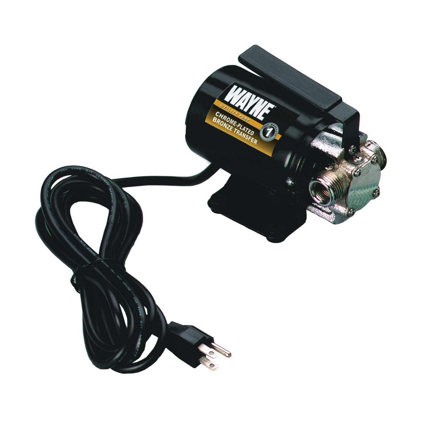 Picture of WAYNE PC2 Transfer Pump, 2 A, 115 V, 0.1 hp, 3/4 in Outlet, 300 gph, Metal