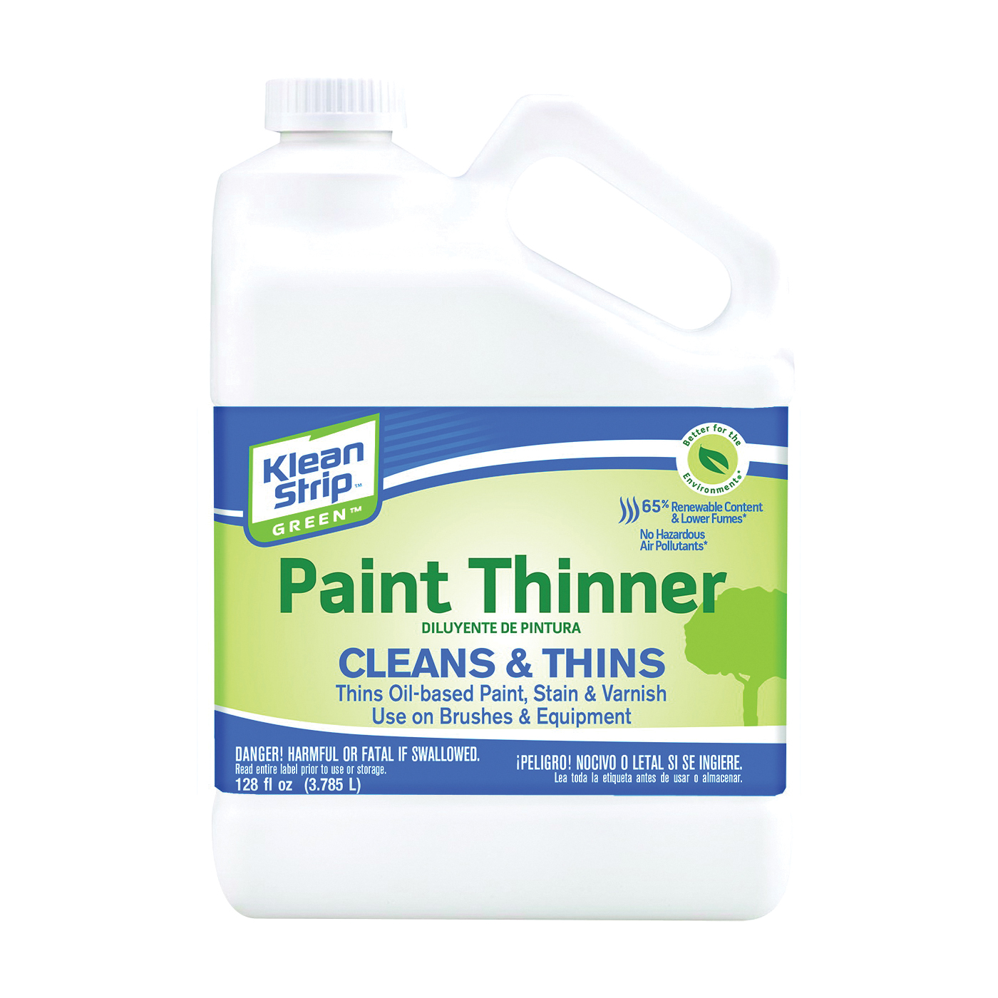 Picture of Klean Strip GKGP75CA Paint Thinner, Liquid, Milky White, 1 gal, Can