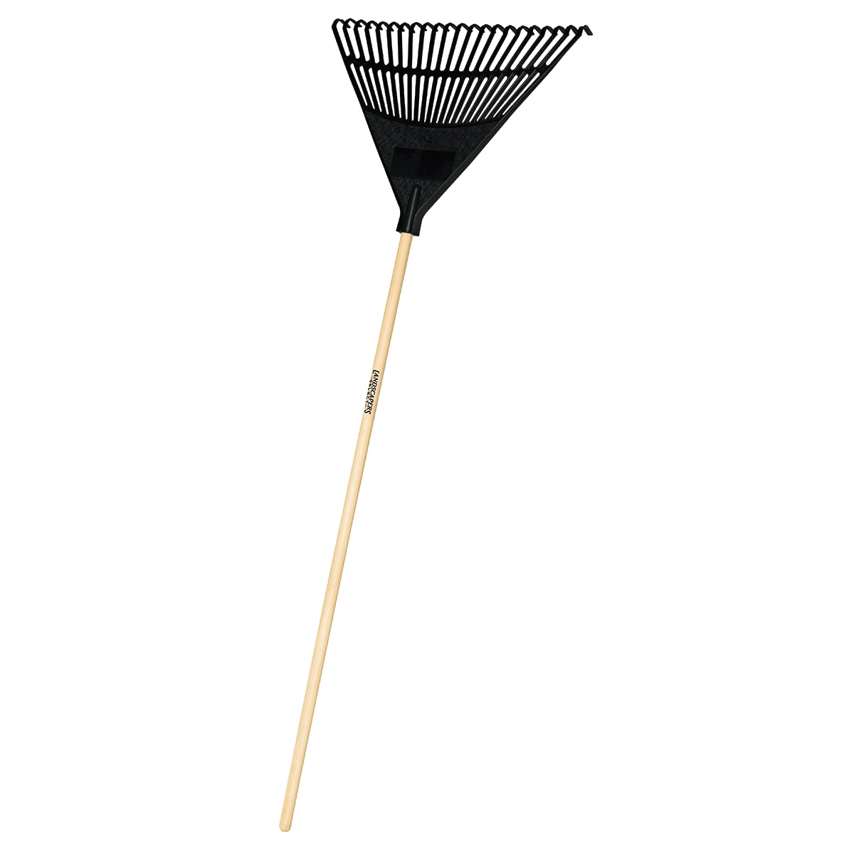 Picture of Landscapers Select 34591 EP22OR Lawn/Leaf Rake, Poly Tine, 22 -Tine, Hardwood Handle, 48 in L Handle