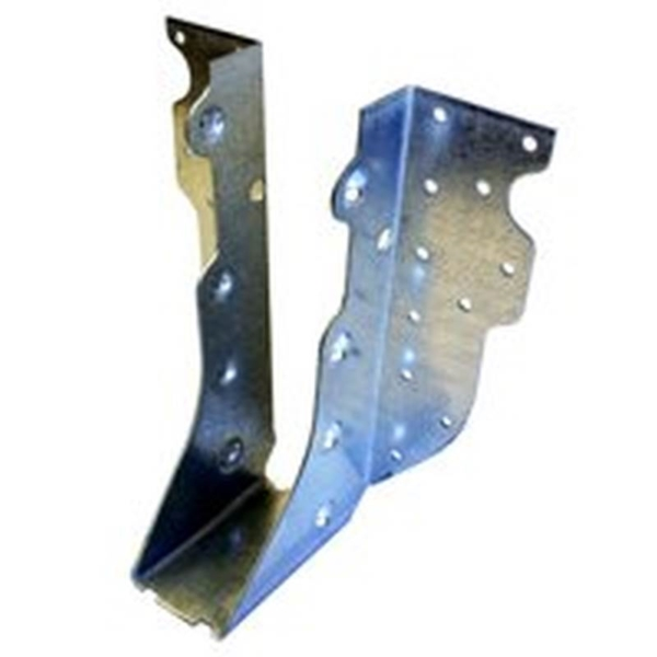 Picture of MiTek HUS179 Slant Joist Hanger, 9-1/8 in H, 1-1/2 in D, 1-13/16 in W, 2 in x 10 to 12 in, Steel, G90 Galvanized