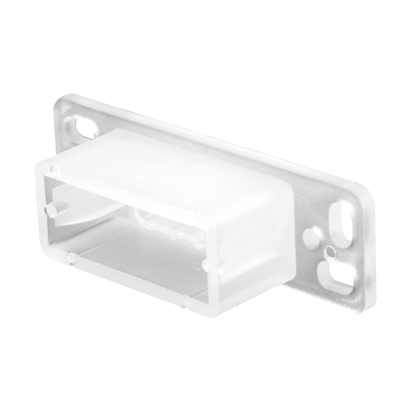 Picture of Prime-Line R 7145 Drawer Track Backplate, 3/4 in L, 2-13/32 in W, Plastic, Raw