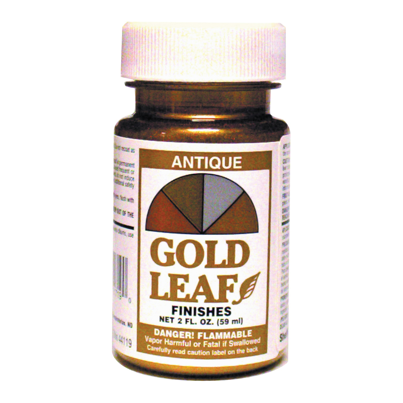 Picture of Sheffield 1716 Leaf Finish, Solvent, Rich Gold, 2 oz Package, Jar