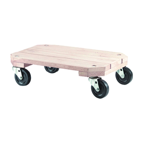 Picture of Shepherd Hardware 9854 Furniture Dolly, 360 lb, Solid Wood Platform