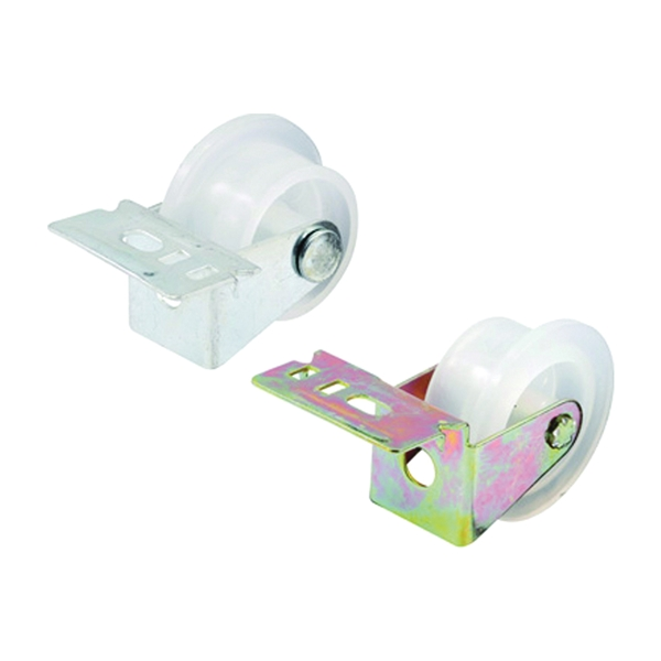 Picture of Prime-Line R 7147 Drawer Guide Roller Assembly, 1 in Dia, Plastic/Steel, White