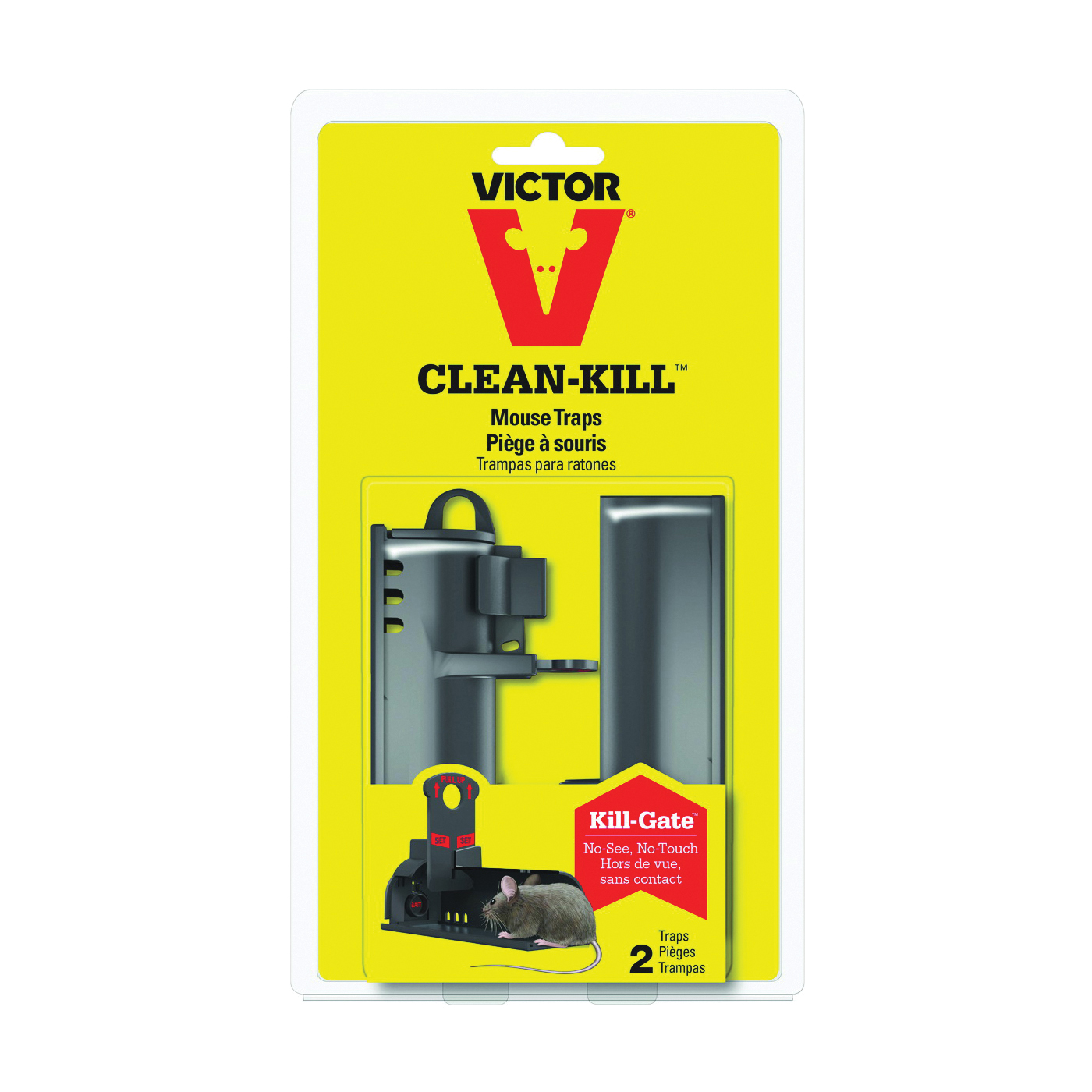 Picture of GENUINE VICTOR CLEAN-KILL M162S Mouse Trap